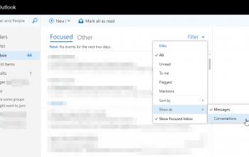 Outlook.com 的Conversations 和Discard Draft 功能讓我很沮喪