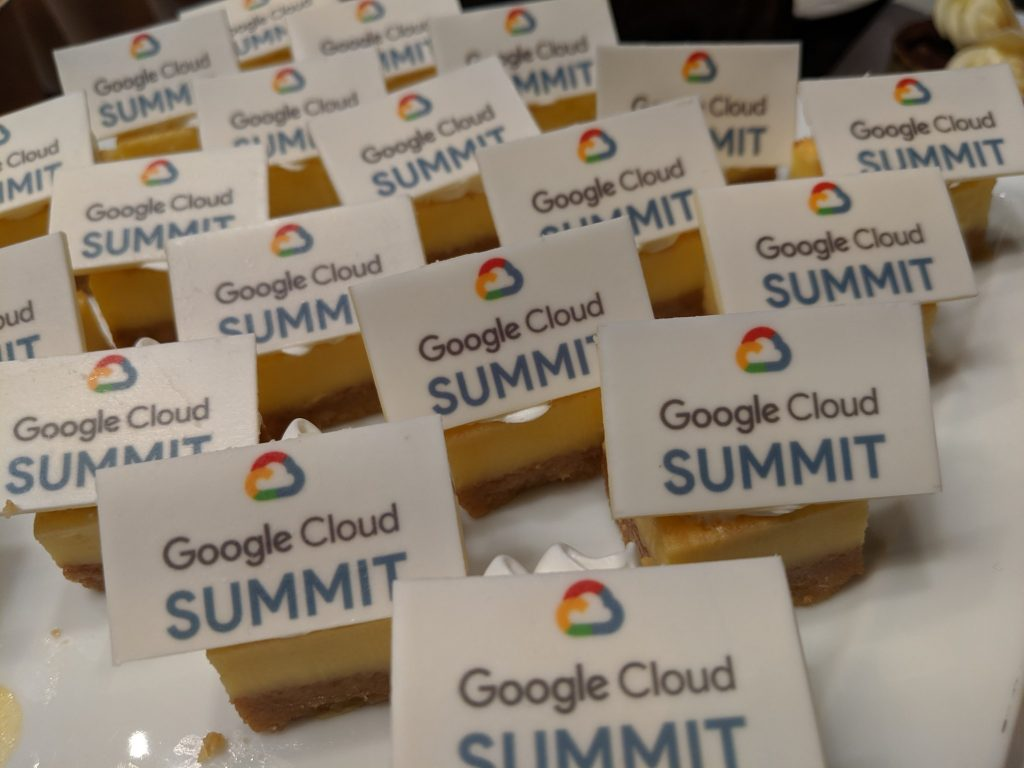 Dessert at Google Cloud Summit 香港2019