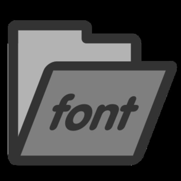 folder-fonts