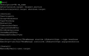 Ubuntu18.04如何auto start VirtualBox client機?